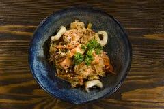 Plat de cuisine japonaise image libre de droits