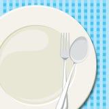 Plat de dîner 2 illustration libre de droits