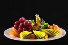 Plat de fruit photo libre de droits