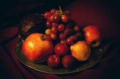 Plat de fruit Photo stock