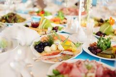Plat de fruits de mer Photographie stock