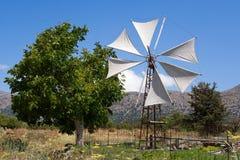 Platô de Lasithi. Crete, Greece Imagem de Stock