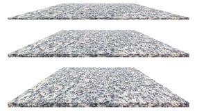 Plat de marbre d'isolement sur le fond blanc pour la d?coration ext?rieure int?rieure et la conception industrielle de constructi photographie stock libre de droits
