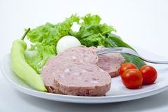 Plat de nourriture Photographie stock libre de droits