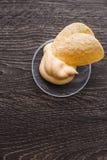 Plat de nourriture malsaine de frites photographie stock