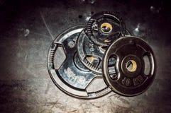 Plat de poids Équipement de séance d'entraînement de bodybuilding Photo stock