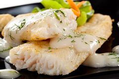 Plat de poisson Image stock