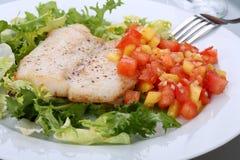 Plat de poisson Image libre de droits