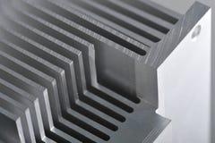 Plat de refroidissement en aluminium Photos stock
