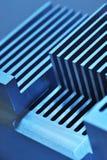 Plat de refroidissement en aluminium Image stock
