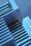 Plat de refroidissement en aluminium Photographie stock