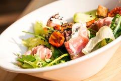 Plat de salad_ Image stock