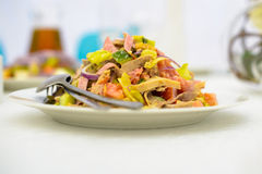 Plat de salade Photo stock
