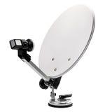 Plat de satellite mobile Photo libre de droits