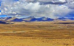 Platô de Tibet Fotos de Stock Royalty Free