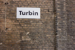 Plat de turbine Images libres de droits