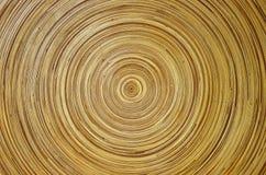 Plat en bambou images stock