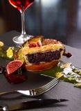 Plat gastronome de canard photographie stock libre de droits