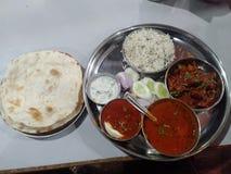 Plat indien d'épice photo libre de droits