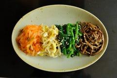 Plat latéral légumes Image stock