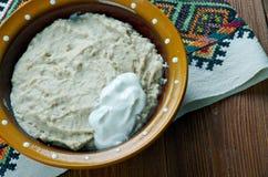 Plat russe de farine d'avoine Photo libre de droits