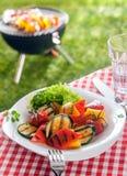 Plat sain délicieux des légumes rôtis, veggie Image stock