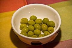 Plat savoureux des olives photo libre de droits