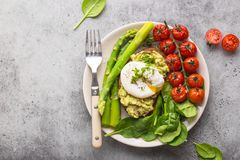 Plat végétarien sain de repas photographie stock