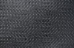Plata cepillada aluminio del fondo de la textura del metal Placa de piso del metal con el modelo del diamante Imag del fondo del  imagen de archivo