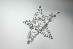 Plata de la estrella Fotos de archivo libres de regalías