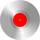 Plata en blanco LP Imagen de archivo libre de regalías
