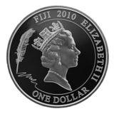Plata un dólar Foto de archivo libre de regalías