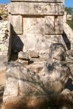 Plataform of Venus at Chichen Itza on Yucatan Stock Images