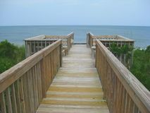 Plataforma da casa de praia Imagens de Stock Royalty Free