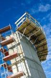 Plataforma da construção Foto de Stock