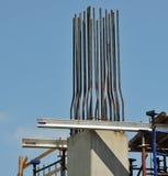 Plataforma da construção do Rebar Imagem de Stock Royalty Free