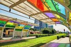 Plataforma da estação Guangzhou do bonde Imagens de Stock Royalty Free