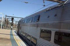 Plataforma da estação Imagem de Stock Royalty Free