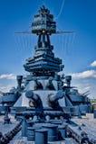Plataforma da navio de guerra Texas Imagem de Stock