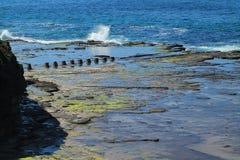 Plataforma da rocha Fotos de Stock
