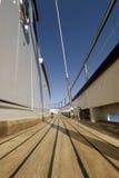 Plataforma de barco Fotografia de Stock Royalty Free