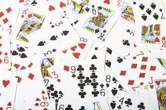 Plataforma de cartões Imagem de Stock Royalty Free