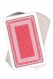 Plataforma de cartões de jogo Foto de Stock Royalty Free