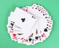Plataforma de cartões do jogo Fotografia de Stock Royalty Free