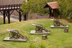 plataforma de la artillería Fotografía de archivo libre de regalías