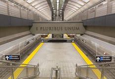 86.a plataforma de la avenida de la calle segunda Foto de archivo libre de regalías