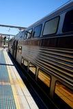 Plataforma de la estación Fotos de archivo