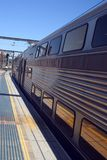 Plataforma de la estación Imagen de archivo