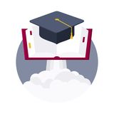 Plataforma de lanzamiento para la educación Fotografía de archivo