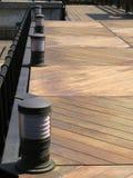 Plataforma de madeira Foto de Stock Royalty Free